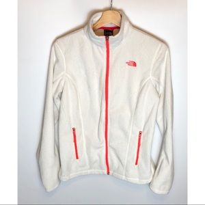 Womens The North Face fuzzy Full zip fleece Small